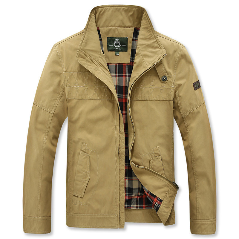AFS JEEP Outwear Men's Jacket Coat Spring and Autumn Wear Men Brand Clothing Outdwear Coat 135(China (Mainland))