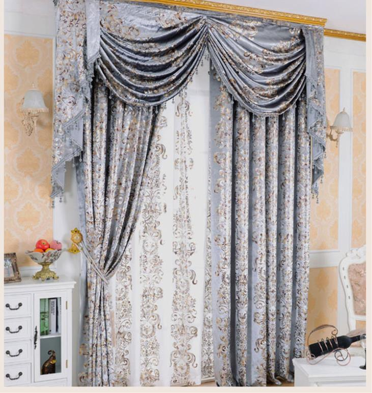 2015 woven cortinas real new arrival curtains home design curtain for window velvet cloth gilt - Curtain new design ...
