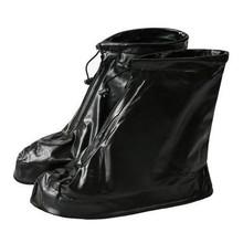 Erkekler & Kadınlar Yeniden Kullanılabilir yağmur ayakkabıları Kapakları Tüm Mevsim Su Geçirmez Kayma dayanıklı Fermuar yağmur botu Galoş Unisex Ayakkabı Aksesuarları(China)