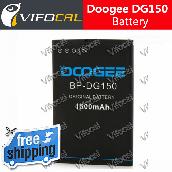 Doogee dg150 battery 1500mAh In Stock 100% Original For Titans Doogee Phone Replacement Backup battery + Free Shipping