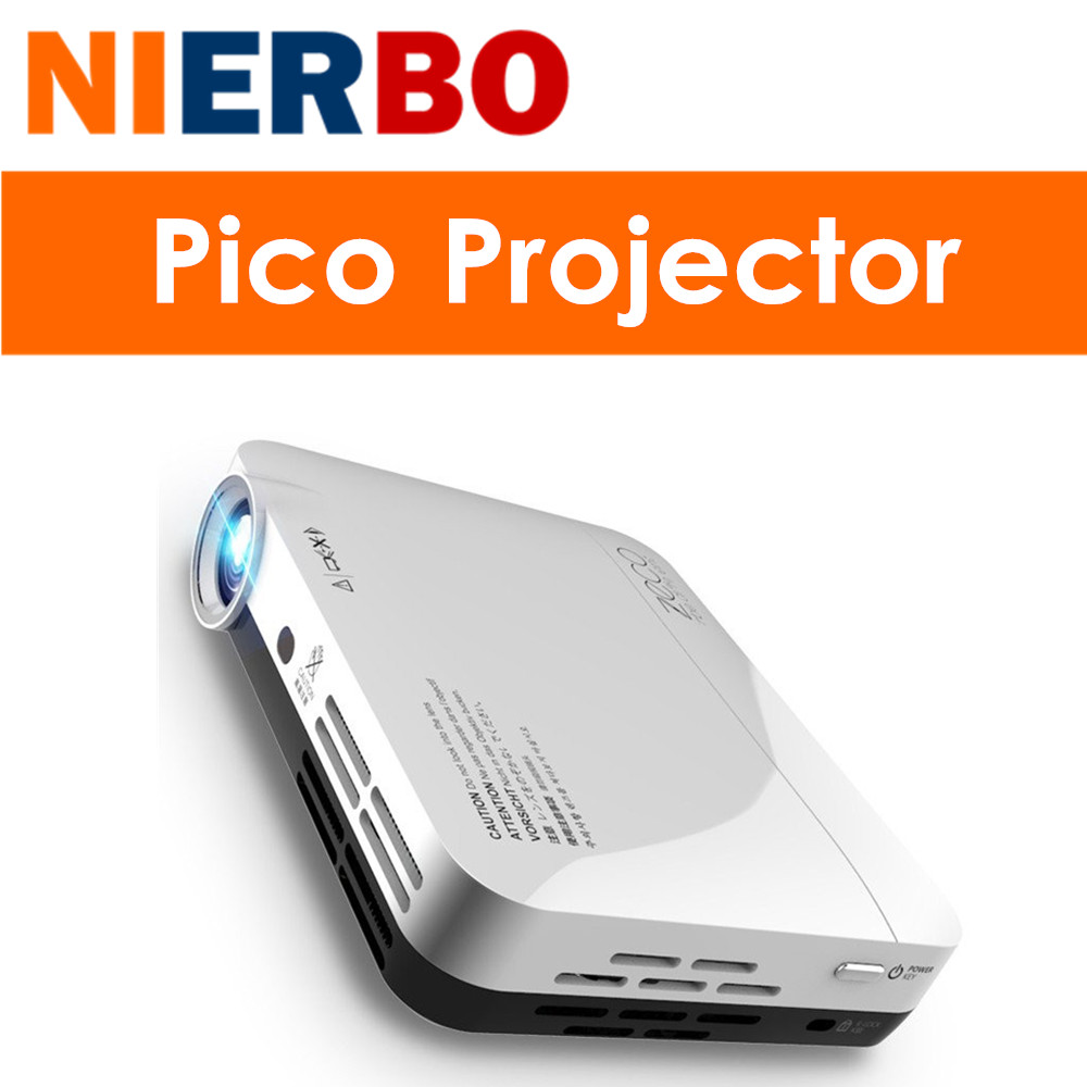 NIERBO Mini LED Projector HD 1080P Android Projector Portbale HDMI Wifi Home Theater Beamer USB Video Game Business 2000 Lumens(China (Mainland))