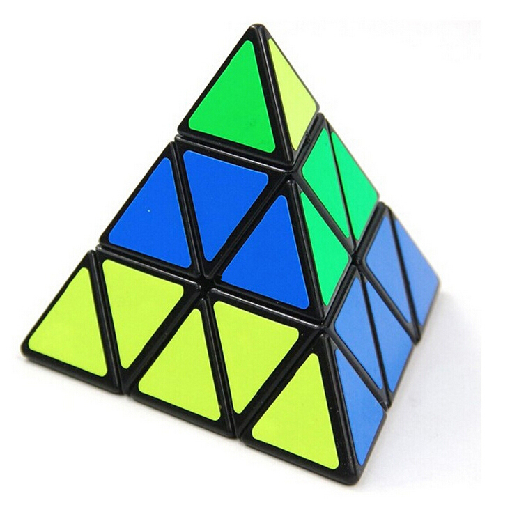 Hot sale Triangle Pyramid Pyraminx Magic Cube Puzzle Speed Magic Cubes Educational Toy Special Toys(China (Mainland))