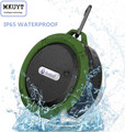 C6 Wireless Waterproof Speaker with 5W Drive Support SD TF Card Suction Cup Buit in Mic