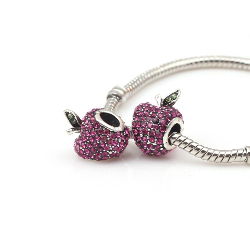 Apple Jewelry Manufacture co Ltd Diy Jewelry Apple Crystal