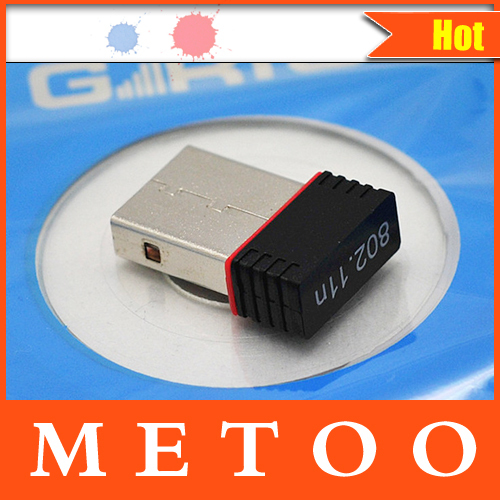 2014 New USB Mini WiFi Wireless Adapter WI-FI Network Card 802.11n 150M Networking WI FI Adapter Free Shipping Factory Outlet(China (Mainland))