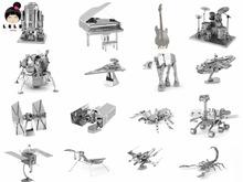 3d-puzzle für erwachsene 2015 star wars insekt musikinstrumente klavier gitarre edelstahl satelliten mehr als 5 großhandelspreis(China (Mainland))