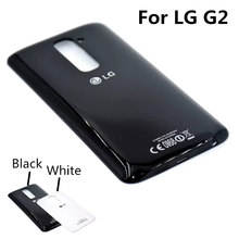 For LG G2 Original Luxury Fundas Housing Replacement Phone Battery Back Cover Case For LG Optimus G2 Free Shipping