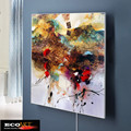 Eco Art Heating 360w Custom Design Oil Painting Infrared heater panel