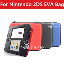 Free Shipping For Nintendo 2DS Protective Bag EVA Pouch(China (Mainland))
