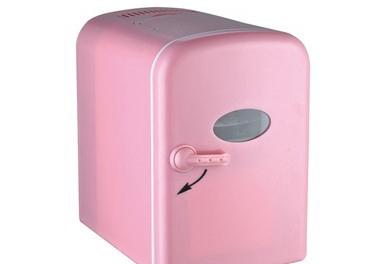 Фотография Genuine Cow mini fridge 4L household refrigerator car refrigerator electronic heating and cooling box