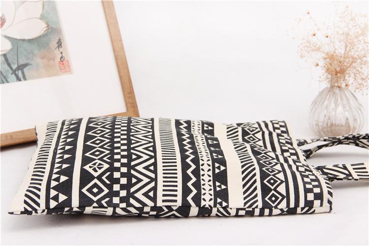 Handmade Cotton Cloth Hobo Handbag Shoulder Tote Bags for Women & Girl (8)