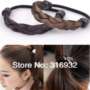 Wig headband twisted braid rope, hair accessory 20pcs/lot