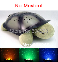 4 colors Free shipping Turtle Night Light Stars Constellation Lamp Without Retail Box,1pcs/lot(China (Mainland))