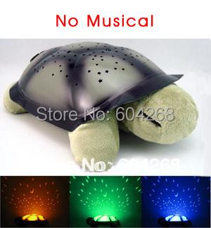 4 colors Free shipping Turtle Night Light Stars Constellation Lamp Without Retail Box,1pcs/lot(China (Mainland))