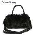 Long haired Shoulder Bag Mobile Messenger Ladies Handbags Bags Girl Bolso Shoulder Crossbody Bag Bolsa Women