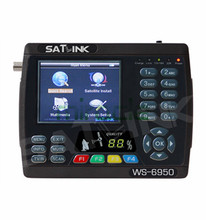 New arrival Satlink WS 6950 3.5″ Digital Satellite Signal Finder Meter WS6950 WS-6950 Free Shipping