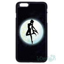 Fit for iPhone 4 4s 5 5s 5c se 6 6s 7 plus ipod touch 4/5/6 back skins cellphone case cover Sailor Moon Shadow Dance