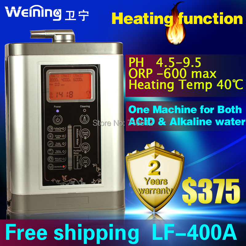 Water Ionizer 110v-250v Get acid &amp; Alkaline water Health daily Life Heating function  Free Shipping<br><br>Aliexpress