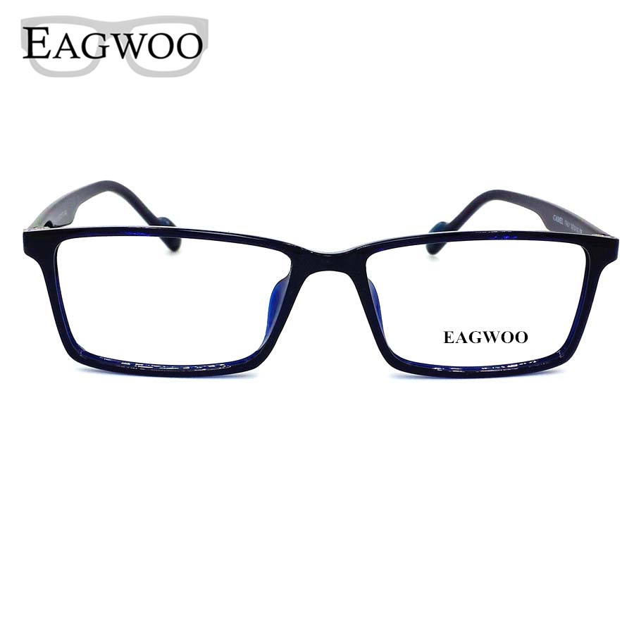 Eyeglass Frames For A Wide Face : Acetate TR90 Eyeglasses Big Wide Face Full Rim Optical ...