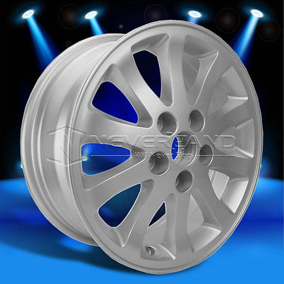 "2015 New 16"" x 6.5"" Alloy Car Wheels Rim Silver fit for Toyota Camry 2002-2011 +45 Offset USA Stock Free Shipping(China (Mainland))"