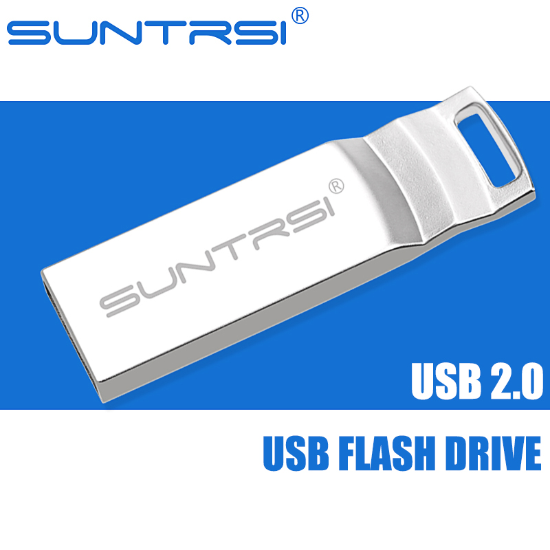 Suntrsi USB Flash Drive 32GB Hot sale 16GB Pen Drive 8GB Metal Key Chain Pendrive 4GB USB Sick Memoria USB Free Shipping<br><br>Aliexpress