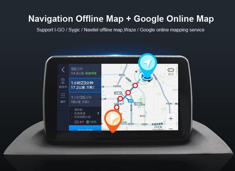 ANDROID 6.0 CAR DVD 2DIN CAR RADIO GPS toyota prado 120 (2)