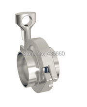 """2.0"""" SS304 Pipe connection/ Ferrule set/ Tri-clamp union (2x ferrule + 1xclamp + 1xgasket)(China (Mainland))"""