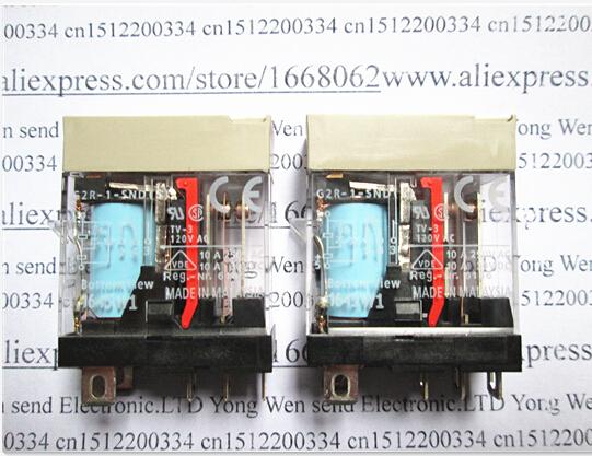 HOT NEW  G2R-1-SND(S)-24VDC G2R-1-SND(S) G2R-1 G2R-24VDC G2R-1-24VDC 24VDC DC24V 24V 10A OMRON DIP5 relay