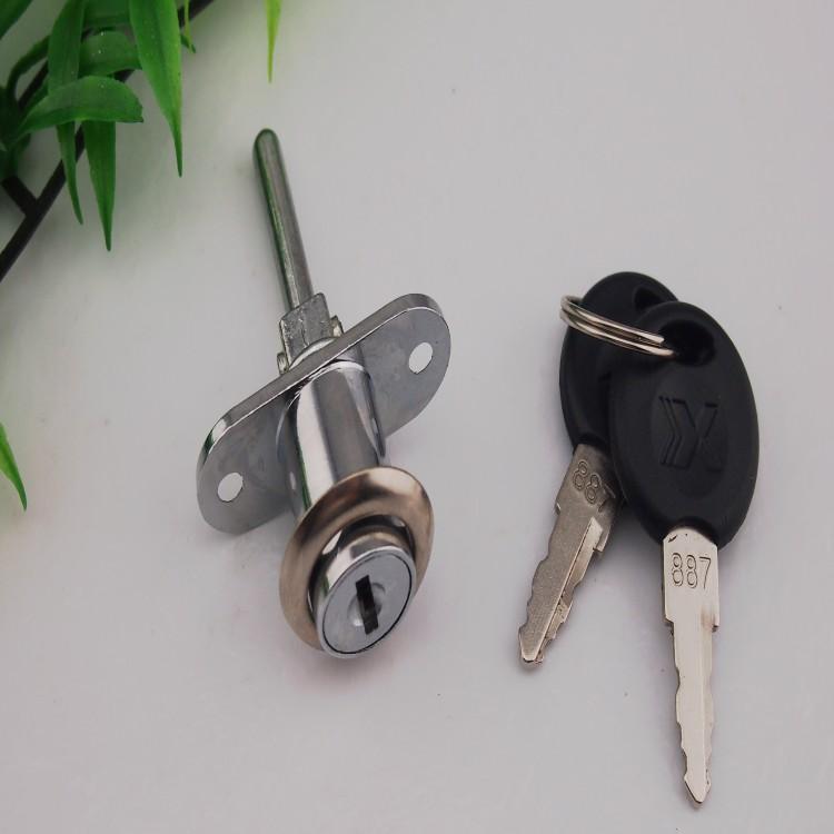 Drawer lock three chain linked lock front lock three chain head 16 core(China (Mainland))