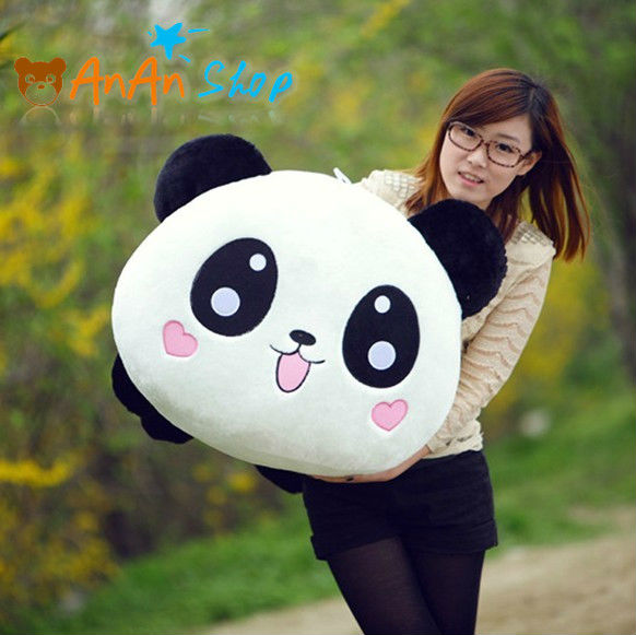 new giant stuffed animal doll 31 39 39 big plush cute panda. Black Bedroom Furniture Sets. Home Design Ideas