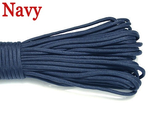Sale 25FT(8m) 550 Paracord Parachute Cord Lanyard Mil Spec Type III 7 Strand Core Mil Spec Climbing <font><b>Camping</b></font> Survival Equipment