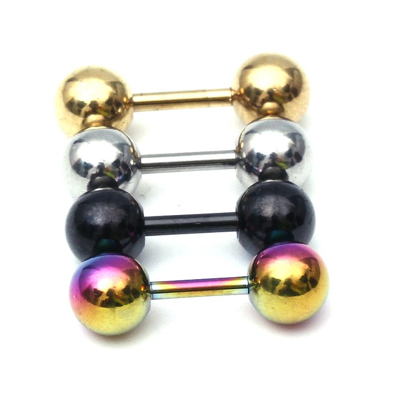 2pcs ear nail clasp ear bone barbell earring piercing