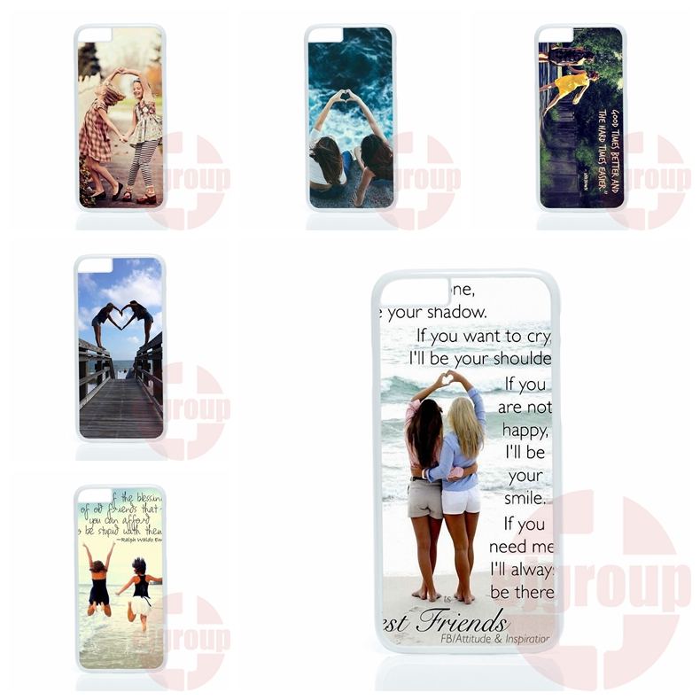 Cute Skin Lenovo A6000 A7000 A708T Oppo Fine 7 R7 R9 plus Nokia 550 matching shape bff girls  -  Sells Top Phone Cases Store store