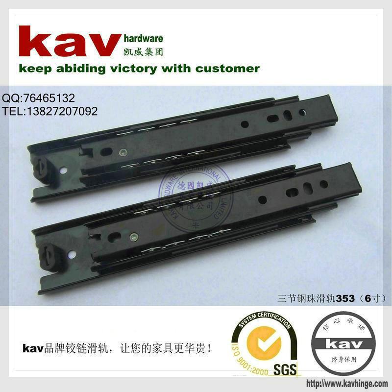 product kav Brand ( 35 W ) 6-inch three drawer ball bearing slide 353 three holes