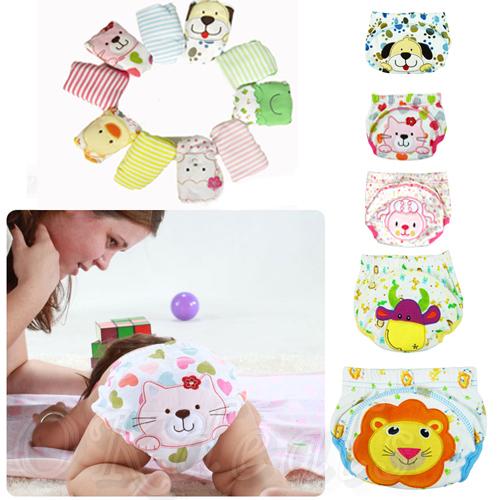 1 PCS Toilet Pee Potty Training Pants Cloth Diaper Underwear For Baby Boy Girl Infant fraldas(China (Mainland))