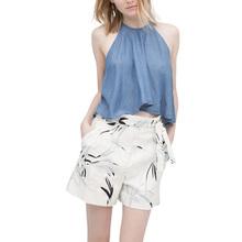Xd64 New Arrival Summer Fashion Women Denim Blue Sexy Spaghetti Strap Sleeveless Camis Brand short Tank Crop Tops Top Female(China (Mainland))