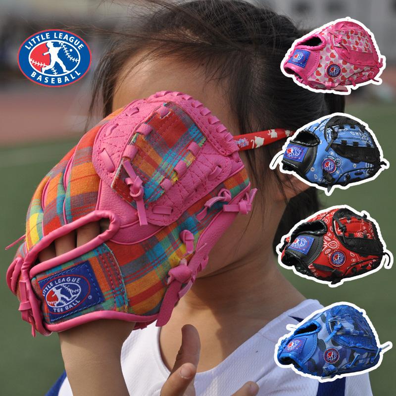 Teeball General Baseball Glove Softball Glove Size 9.5 Left Hand Super Soft Ultra Light for Child Children Kids Training(China (Mainland))