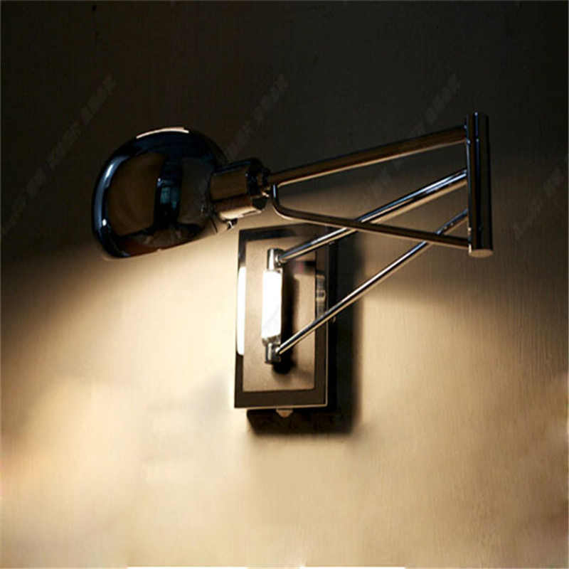 Bedside Wall Lamps : modern wall lamps trendy Swing wall lamp led Wall Sconce Bedside Reading light Bright Your home ...