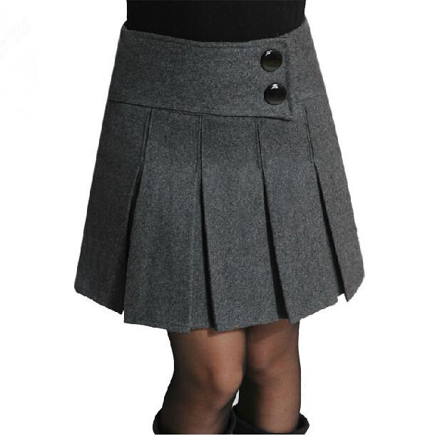 s 5xl 2015 new fashion wool skirts high