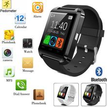 Bluetooth Smart Watch U8 Clock Wrist SmartWatch for Samsung HTC LG Push Message Bluetooth Connectivity Android Phone