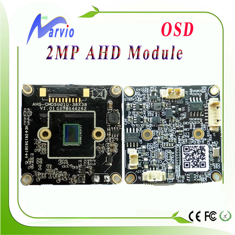 1080P 2.0MP (Million Pixel) AHD Full HD Analogy CCTV camera module board DIY your own security surveillance system free shipping(China (Mainland))