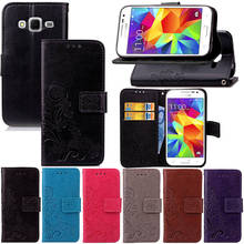 Buy Luxury Wallet PU Leather Flip Cover Case Samsung Galaxy J1 J100 J100H SM-J100F SM-J100H SM-J100FN Duos Case Back Cover Bag for $3.69 in AliExpress store