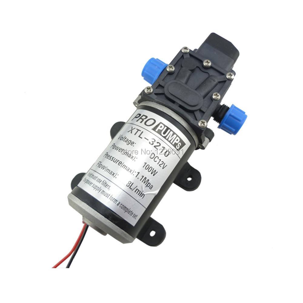 Dc 100w Automatic Switch Diaphragm Pump High Pressure