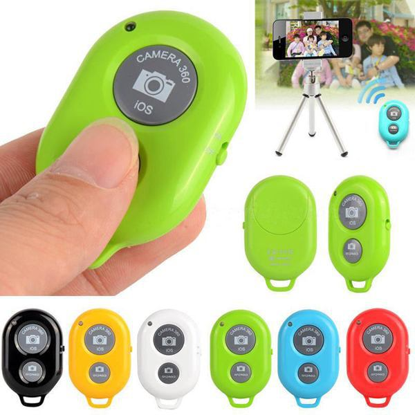 2014 Newest Wireless Bluetooth Camera Remote Control Self-timer Shutter Samsung Iphone 6 Colors Avaliable - Uooei's Gift Store--Ship From Hongkong store
