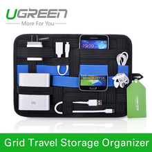 Ugreen digital device organizer travel storage bag for iPhone tablet mobile phone USB cable earphone charger power bank(China (Mainland))