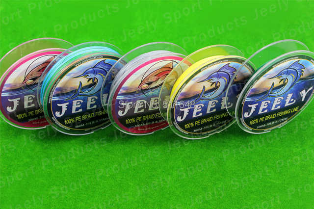 Free Shipping 300M PE Braid Fishing Lines 60 70 80 90LB