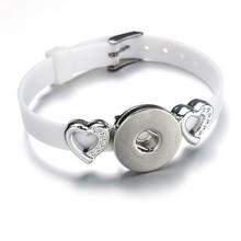 Creative papa circle Snap Bracelet Hot Sale Trendy Snap Button Bracelet Bangles fit 18MM Snap Jewelry fun gift(China)