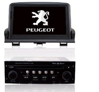 peugeot custom car dvd player and gps navigation for. Black Bedroom Furniture Sets. Home Design Ideas