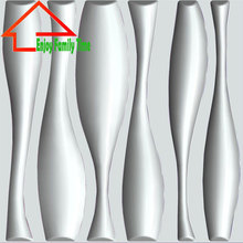 2015 New Arrival Modern Environmental Durable PVC 3d Wall Panel for Home Deco 50*50CM 12PCS Super Lightweight 3D Wall Board(China (Mainland))