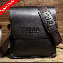 Casual Business Leather Mens Messenger Bag Hot Sell Famous Brand Design Leather Men Bag Vintage Fashion Mens Cross Body Bag